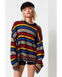 The Ragged Priest - The Ragged Priest Candy Striped Sweater - Lyst