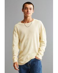 Urban Outfitters | Uo Essential Rib Long Sleeve Tee | Lyst