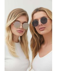 Urban Outfitters - Pixie Metal Round Sunglasses - Lyst