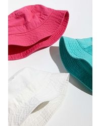 Urban Outfitters Uo Pigment Dye Canvas Bucket Hat - Multicolour