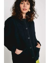 Urban Outfitters Uo Black Quilted Liner Jacket