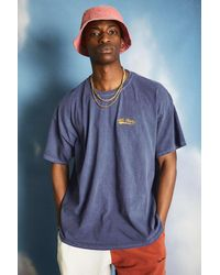 iets frans... Navy Script Embroidered T-shirt - Blue