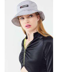 5e84c6f1 Stussy X Uo Velvet Bucket Hat in Blue - Lyst