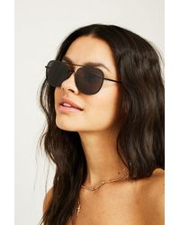 Urban Outfitters - Navigator Tinted Sunglasses - Lyst
