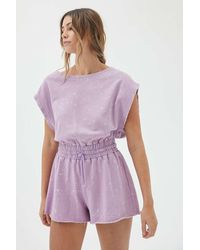 Out From Under Tina Playsuit - Purple