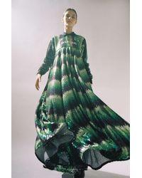 adidas Originals X Anna Isoniemi Sequin Maxi Dress - Green