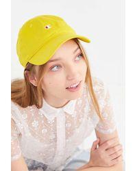 Urban Outfitters x Champion Champion Baseball Hat - Yellow