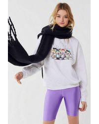 Urban Outfitters - Peanuts Holiday Caroling Sweatshirt - Lyst