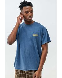 iets frans... Blue Script Embroidered T-shirt