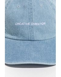 Urban Outfitters - Creative Director Dad Baseball Hat - Lyst