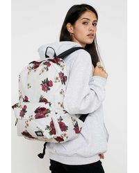 Vans - Realm Classic White Floral Backpack - Lyst