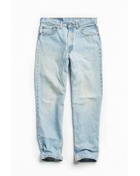 Urban Outfitters Vintage Levi's 550 Light Stonewash Relaxed Jean - Blue