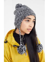 Urban Outfitters - Pompom Trapper Beanie - Lyst 1cbe0d71aab6