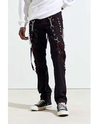 Tripp Nyc No Excuse Zip Chain Skinny Pant - Black