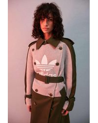 adidas X Dry Clean Only Wild Pine Trench Coat - Green