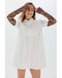Urban Outfitters - Uo Michaela Babydoll Mini Dress - Lyst