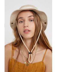 Urban Outfitters Uo Fisherman Bucket Hat - Womens All - White