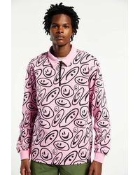 Lazy Oaf Squish Face Jersey Top - Pink