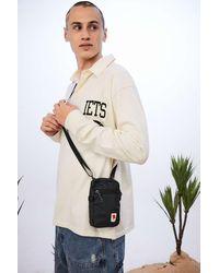 Fjallraven Kanken Black High Coast Pocket Crossbody Bag