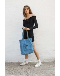 Urban Outfitters Uo Corduroy Pocket Tote Bag - Grey
