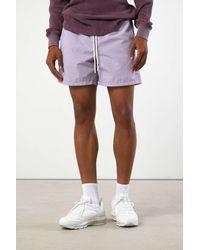 Standard Cloth Oliver Nylon Short - Purple