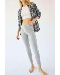 Out From Under Cozy Cotton Jogger Pant - Multicolor