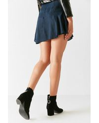 Urban Outfitters - Harlow Faux Suede O-ring Ankle Boot - Lyst