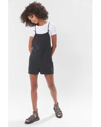 Urban Outfitters Uo Bianca Shortall Overall - Multicolor