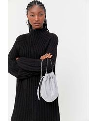 Urban Outfitters Brittany Drawstring Bucket Bag - Multicolour