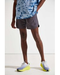 Topo Lightweight Belted Trail Short - Gray