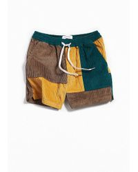 Urban Outfitters - Uo Maximus Corduroy Short - Lyst