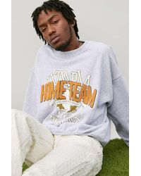 BDG Grey Home Team Sweatshirt