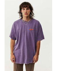 iets frans... Purple Script Embroidered T-shirt