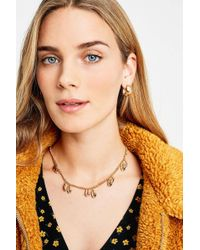 Urban Outfitters - Multi Shell Gold Chain Necklace - Womens All - Lyst