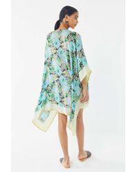 Urban Outfitters Uo Lightweight Cover-up - Blue