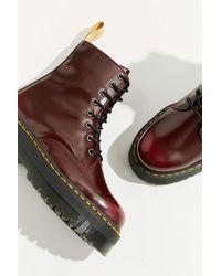 Dr. Martens - Dr. Martens Jadon Ii Platform 8-eye Boot - Lyst