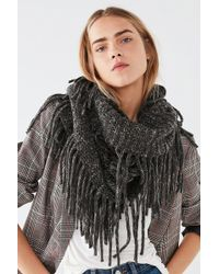 Urban Outfitters - Fringed Infinity Scarf - Lyst