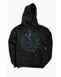 Urban Outfitters Batman The Joker Crazy Laugh Hoodie Sweatshirt - Multicolor