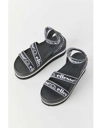 Ellesse Elina Platform Sandal - Metallic