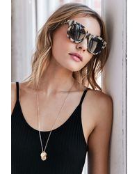 Goldendaze - Square Frame Sunglasses - Lyst
