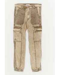 Urban Outfitters Uo Ledge Block Jogger Pant - Natural