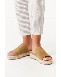 Urban Outfitters - Mimi Espadrille Slide - Lyst