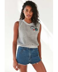 Truly Madly Deeply | Trail Patch Sleeveless Sweatshirt | Lyst