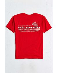Captain Fin - Special Delivery Tee - Lyst
