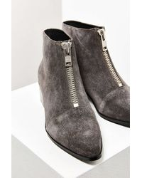Grey City - Winona Zipper Ankle Boot - Lyst