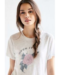 Comune - X Uo Over It Rose Tee - Lyst