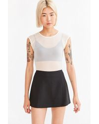 Cooperative Clean Micro Mini Skirt - Black
