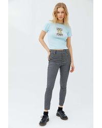 Urban Outfitters Uo Lita Skinny Pant - Blue