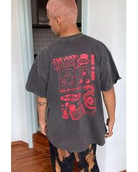 Urban Outfitters Uo Washed Black Udon T-shirt