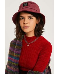 Urban Outfitters - Uo Utility Velour Bucket Hat - Womens All - Lyst 841c9351e9a4